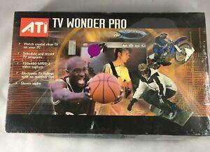 New ATI TV Wonder Pro Model No. 100-703138 TV Tuner/ Video Watch TV on your PC