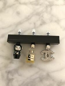 Authentic Chanel Cell Phone Head Phone Charms