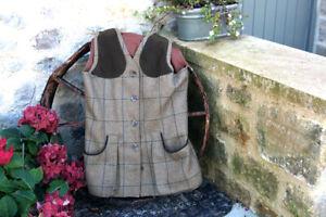 Laksen Eden Ladies Tweed Shooting Vest Last One Size 8
