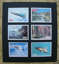 GERRY ANDERSON SIGNED DISPLAY 1 - THUNDERBIRDS STINGRAY UFO - UACC RD AUTOGRAPH
