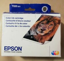 2015 Genuine EPSON 20 T020 201 Color Ink Cartridge For Stylus 880 880i - SEALED