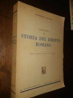LIBRO:Lezioni di storia del diritto romano -1965 di Giuseppe Grosso