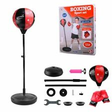 Adjustable Kids Boxing Fitness Sets Punch Pear Speed Ball Punching Speed Bags