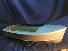 "41"" X 15"" RC BOAT HULL FIBERGLASS SPORT/ FISHING BOAT VERY SOLID USA MADE!"