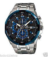 EFR-539D-1A2 Schwarz Blau Casio Herrenuhr Edifice Brandneu 100M Chronograph
