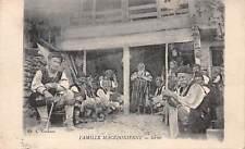 MACEDONIA ~ GROUP OF SERBIAN PEASANTS, POSED IMAGE ~ dated 1918