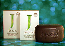 Jericho Purifying Black Mud Soap x 2 THE NEW Improved Mud Soap FAST'n'Free DEL!