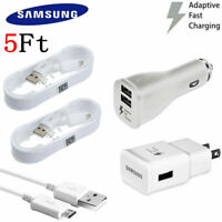 NEW For Original Samsung Galaxy Note 4 5 S6 S7 Edge Adaptive Rapid Fast Charger