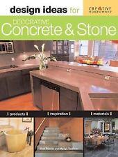 Design Ideas for Decorative Concrete and Stone-ExLibrary