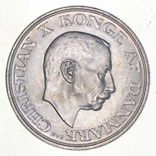 SILVER - WORLD Coin - 1945 Denmark 2 Kroner - World Silver Coin *475