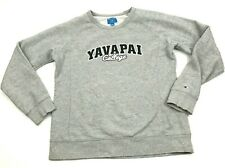 Vintage Champion Yavapai Collège Pull Femmes Taille Extra Large Manches Longues