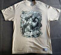 WWE Authentic Wear Bray Wyatt Sister Abigail's Family Of Freaks T-Shirt Size L