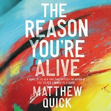 The Reason You're Alive by Matthew Quick (2017, Unabridged) 5 CDs