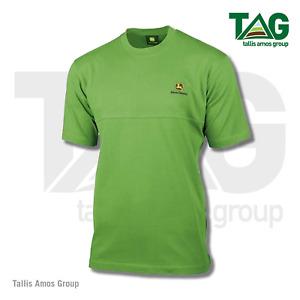 Genuine Green T-Shirt with Decorative Seam, Polo Shirt John Deere - MCDW001507G