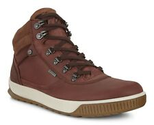 Men's ECCO Byway Tred Gore Tex Waterproof Ankle Sneaker Boot Brown 501834 52201