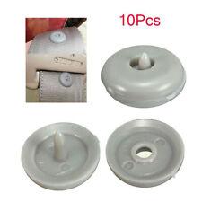 10Pcs Rivet Truck Car Seat Belt Buckle Anti Slip Stop Buttons Clips Retainer Set