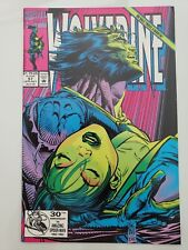 WOLVERINE #57 (1992) MARVEL COMICS MARC SILVESTRI ART! DEATH OF MARIKO YASHIDA!