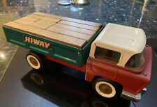 Large Tri-Ang Construction Truck (Hyway) - Rare 1960's Metal Toy!