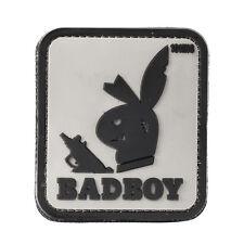 101 Inc. 3d Rubber Patch Badboy grau