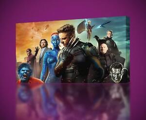 X MEN Wolverine CANVAS PRINT Wall Art Decor Giclee *4 Sizes* CA149