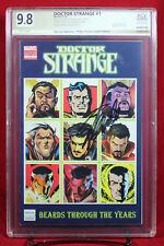 DOCTOR STRANGE #1 PGX 9.8 NM/MT Near MInt Beards Variant signed STAN LEE!! +CGC!