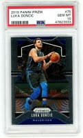LUKA DONCIC 2019-20 Panini Prizm PSA 10 Gem Mint #75 Second Year Mavericks