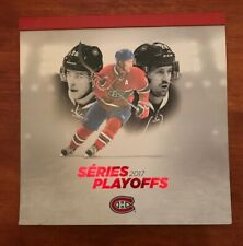 MONTREAL CANADIENS 2017 NHL PLAYOFFS SEASON TICKETS BOOKLET & TICKET STUBS