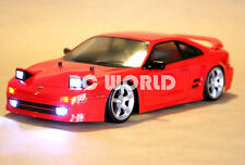 1/10 RC Car Body Shell TOYOTA MR2 TURBO J SPEC Body W/ Light Buckets 190mm