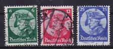 DR Mi Nr. 479 - 481, gest., dezentriert, Eröffnung Reichstag Potsdam 1933, used