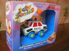 MAJORETTE RARE BABYSONICS VOITURE POLICE NOIR Ref 1401!