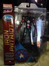 Iron Man 3 Marvel Select  Disney Exclusive IRON PATRIOT Mk2 Action Figure