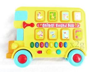 Musical Sound Bus with Animal sounds and Numbered Notes