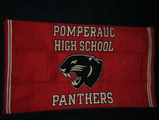 "Lot of 6 - Jacquard Woven Heavyweight 33""x58"" Beach Towel - Panthers"