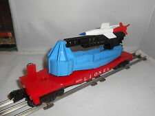 Lionel Pw 6650 Irbm Rocket Launcher With A New Blue Tipped Red & White Rocket