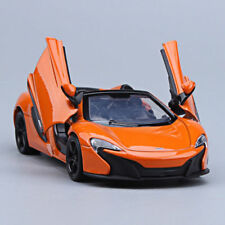 McLaren 650s 1:24 Convertible Model Cars Toy Collection Alloy Diecast Orange New