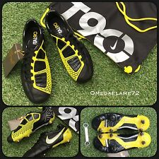 Nike TOTAL 90 T90 Laser III K-SG 385422-007 UK 6.5 EU 40.5 US 7.5 Nero Giallo