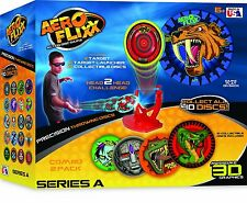 Skullduggery Disc Golf Aero Flixx Deluxe Action Disc Two Player Ages 6+ Toy Gift