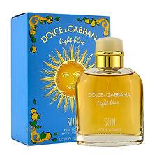 Dolce & Gabbana Light Blue Sun pour Homme  125ml  Eau de Toilette