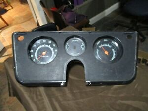 67 68 69 71 72 70 CHEVY GMC TRUCK CLUSTER DASH GAUGES 1972 1971 1970 1969 1968