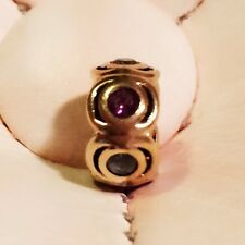 9K Michael Hill Charm With Blue Topazes & Amethysts, SKU 11226321, RRP$249