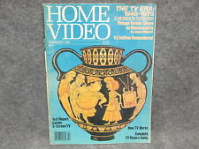 Home Video Magazine February 1981 Volume 2 Number 2 TV Age Comics How TV Works