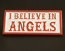 More details for metal lapel pin badge i believe angels 81 hells patch butterfly clip fastening