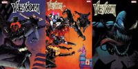 🚨🔥🕸 VENOM #29 SET OF 3 Main Cover + Stegman Variant + Kuder Fortnite Variant