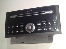 Ford Mondeo MK3 & Focus & C-MAX Sony CD132 CD6 Radio Stereo CD 6 Player