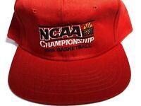 VTG New 1991  NCAA Basketball Championship  game AJD Snapback Hat DUKE NOS
