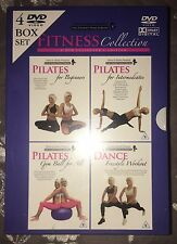 Polly & Sophie's Fitness Collection 4 DVD Box Set Pilates & Dance Bulk Lot New