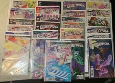 THE UNBELIEVEABLE GWENPOOL #1-25 MARVEL COMIC COMPLETE FULL RUN LOT