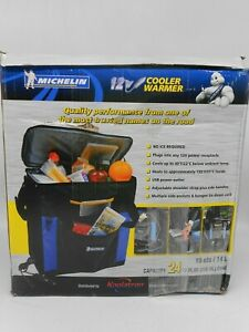 Michelin Hybrid Portable 12V Thermoelectric Cooler Warmer 14 L/15 Quarts *READ