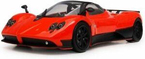 PAGANI ZONDA F ORANGE 1/18 DIECAST CAR MODEL BY MOTORMAX 79159