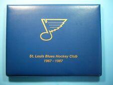 1967-1987 ST. LOUIS BLUES HOCKEY CLUB TEAM PHOTO FOLIO JACQUES PLANTE GLENN HALL